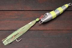 脇漁具 Wウェーブ ウラシマ�U 150g シルバーゼブラグロー