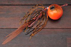 ジャッカル 鉛式 ビンビン玉スライド 120g オレンジオレンジ/コーラオレンジフレーク