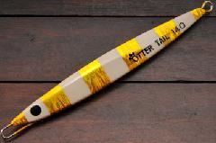 ブリード オッターテイル鉛 140g ゴールド/ゼブラグロー