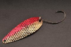 ムカイフィッシング 岩魚スプーン 5g 3レッドゴールド