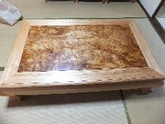 NO 548 日本産の肥松     テーブル