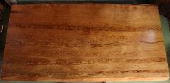 NO 54-1  屋久杉 テーブル長さ180�p×横幅95cm×天板の厚さ 7.5cm    (脚 付)