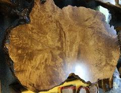 NO 593  屋久杉テーブル虎杢 極上品油瘤 長さ200cm×横幅110cm×厚み8cm