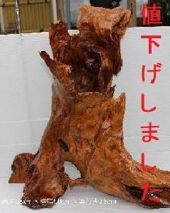 NO 715    屋久杉 自然木 オブジェ