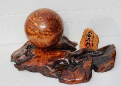 NO 779  屋久杉長寿玉 (数千年を生き抜いた長寿の樹)玉長径 15�p