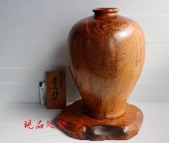 NO 583  屋久杉 壷 光明杢(キラキラ)                   (台別)