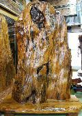 NO 60 屋久杉 衝立                                                             自然木を使用した杢の良い品です。