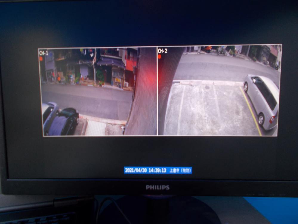 24時間監視カメラ