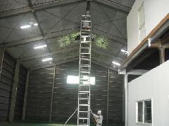 ランプ交換工事