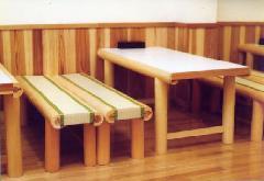 長椅子(畳表貼り)