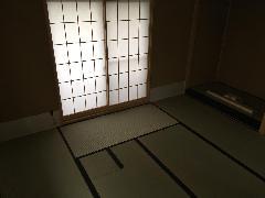 横浜市港北区のお宅のお茶室です