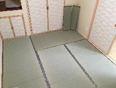 平塚市内にある戸建ての和室です