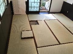 東京都にある一般住宅のお茶室です