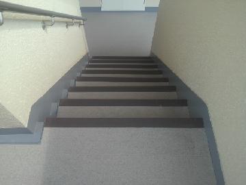 マンション 階段 シート防水