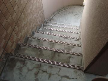 階段床の密集亀裂