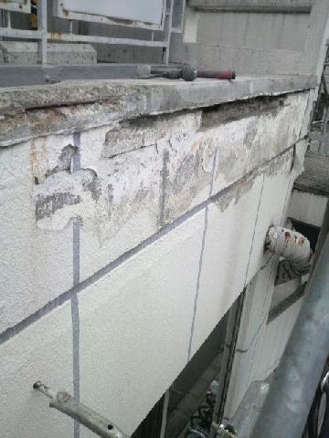 モルタルの浮き補修