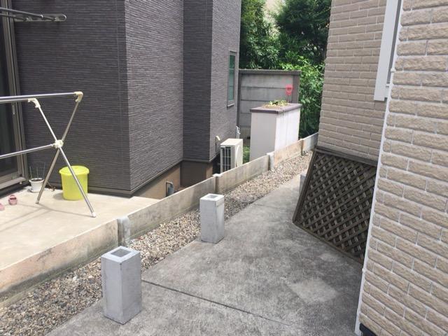 フェンス設置・外構工事