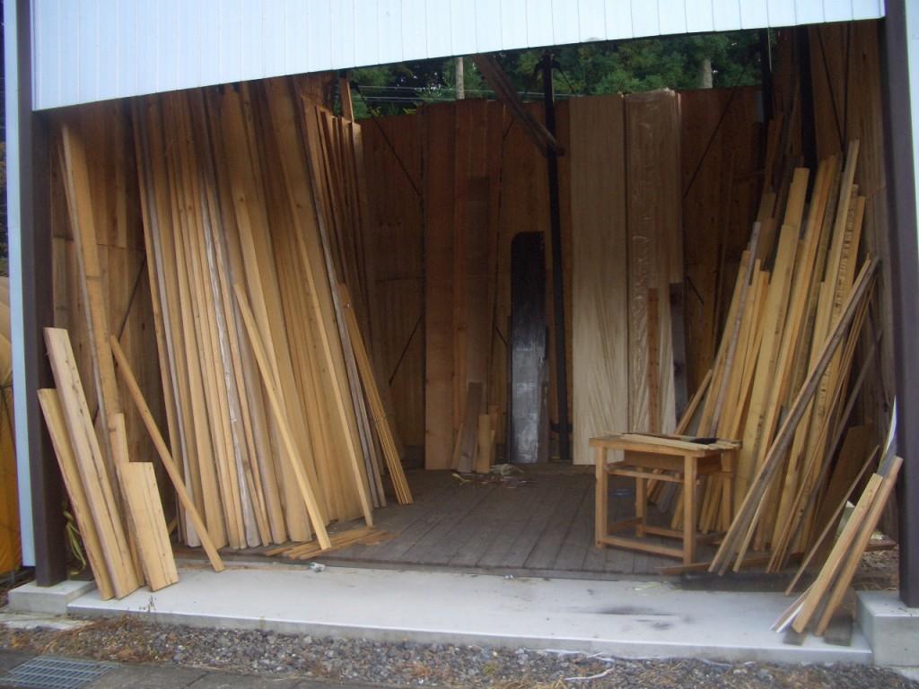 こだわりの材木