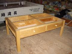 収納テーブル