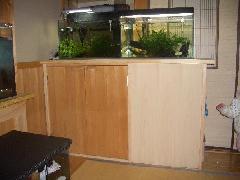 キャビネット式水槽台