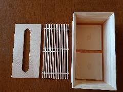 ひのきの香りのティッシュボックス