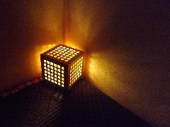 ふろあらんぷ 格子−koushi−<コード式LED電球>