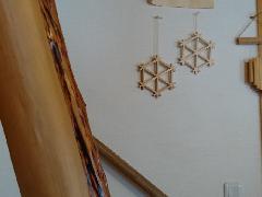 <完成品>六角形のかざり組子!亀甲コ-スター