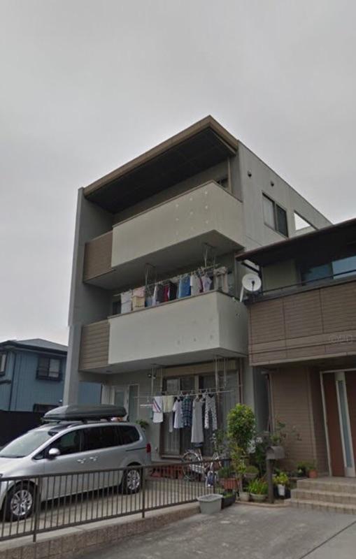 中村区I様邸 塗り替え工事ビフォー