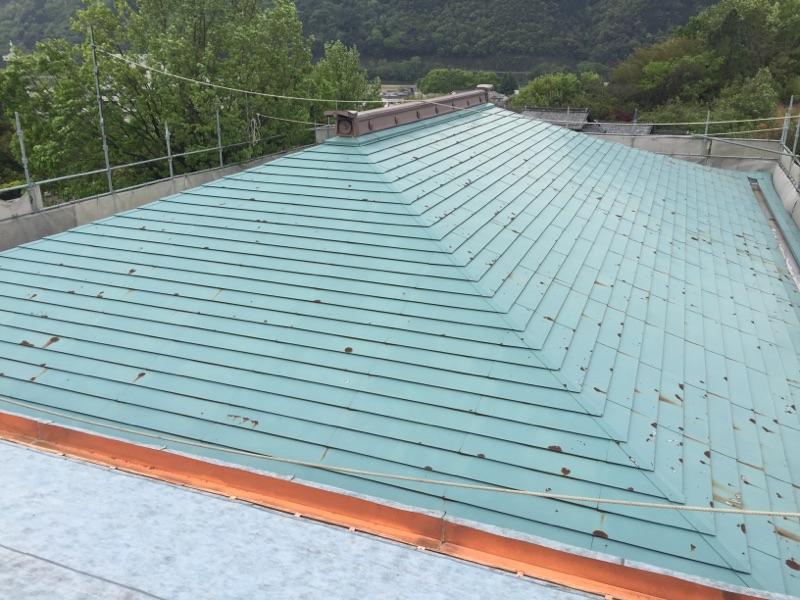 屋根塗り替え工事 施工前