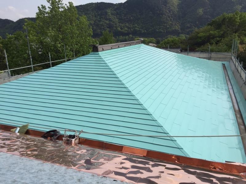 屋根塗り替え工事 施工後