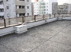 港区芝浦 ビル防水塗装工事