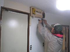 文京区のアパート内装リフォーム工事�D内装工事状況