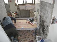 文京区Tビル浴室、洗面脱衣室リフォーム�A