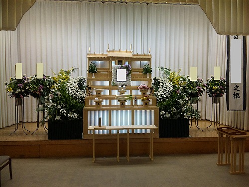 堺斎場で、まごころプラン45で家族葬(実例)