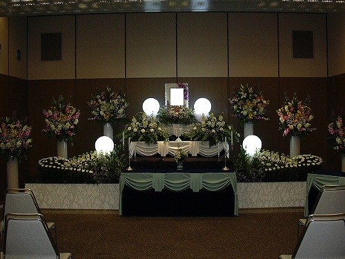 まごころプラン45で、キリスト教葬(実例)