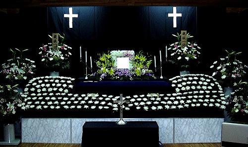 地域集会所でキリスト教葬 こころプラン60