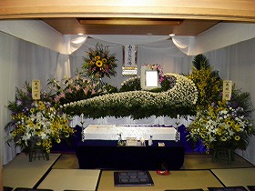 家族葬25名で まごころプラン45(実例)