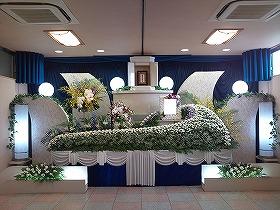 『一般葬』やすらぎホール別館でまごころプラン45(実例)