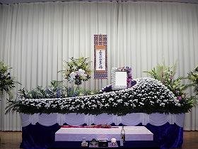 堺市立斎場・中式場で心のこもった家族葬(実例)