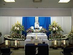小林斎場・式場を使って家族葬。まごころ45(実例)