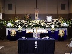 北斎場の中式場で心温まるお葬式 こころ60プラン(実例)