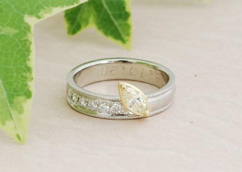 S様御結婚指輪加工