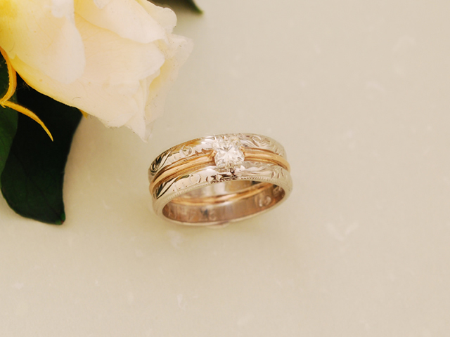 Y様御結婚指輪リフォーム