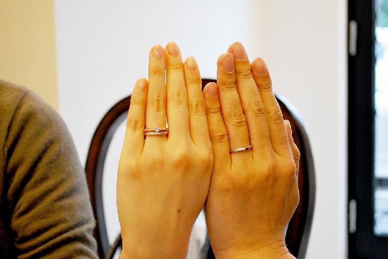 御納品 (婚約指輪・結婚指輪の完成)