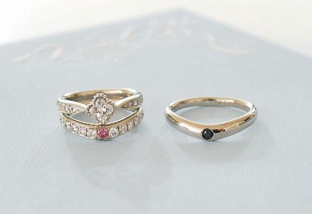 K様婚約指輪(エンゲージリング)&結婚指輪(マリッジリング