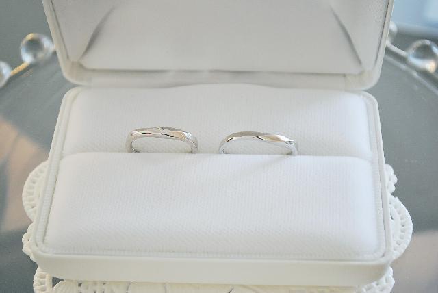 W様 K18WG結婚指輪(マリッジリング)