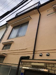 荒川区 建外壁塗装&雨樋、波板交