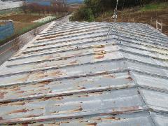 屋根の貼り換え工事