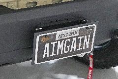 AIMGAIN MT.8 JIMNY SIERRA ナンバープレートブラケット