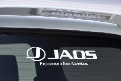 JAOS ステッカー M ホワイト